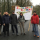 Protest gegen Baumfällungen